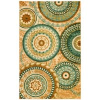 The Curated Nomad Francisco Geometric Area Rug - 6' x 9'