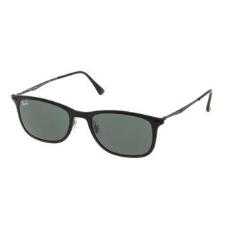 Ray-Ban RB4225 601S71 52mm Green Classic Lenses Black Frame Sunglasses