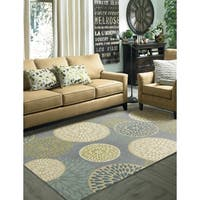 Mohawk Home Aurora Foliage Friends Rug (5' x 8') - 5' x  8'