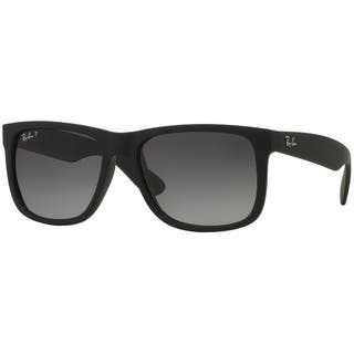 29adca5130d Ray-Ban RB4165 622 T3 Justin Classic Black Frame Polarized Grey Gradient  55mm Lens