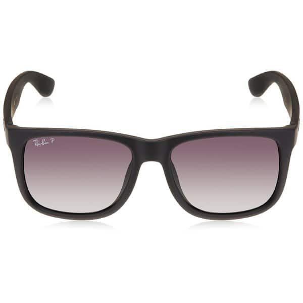 Shop Ray Ban Justin Classic Rb4165 Black Frame Polarized