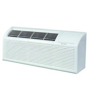MRCOOL 7,000 BTU Packaged Terminal Heat Pump PTHP Air Conditioner 2.5 kW Electrical Heater 11.9 EER,230V - White