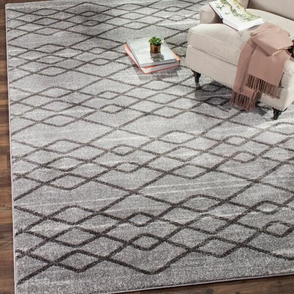 Safavieh Tunisia Grey/ Black Rug - 8' x 10'