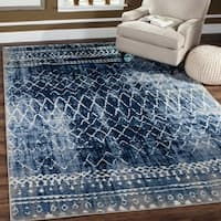 Safavieh Tunisia Light Blue/ Cream Rug - 9' x 12'