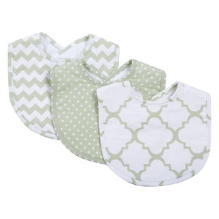 Trend Lab Sea Foam Bib Set (Pack of 3)