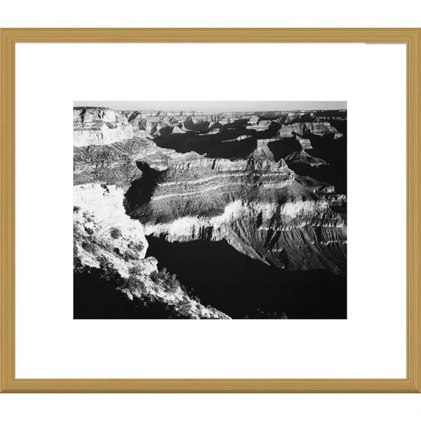 Global Gallery Ansel Adams 'Grand Canyon National Park, Arizona, 1941' Framed Art