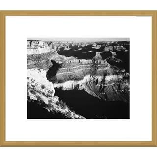 Big Canvas Co., Ansel Adams 'Grand Canyon National Park, Arizona, 1941' Framed Art