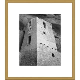 Big Canvas Co., Ansel Adams 'View of tower, taken from above, Cliff Palace, Mesa Verde National Park