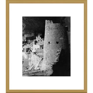 Big Canvas Co., Ansel Adams 'Cliff Palace, Mesa Verde National Park, Colorado' Framed Art