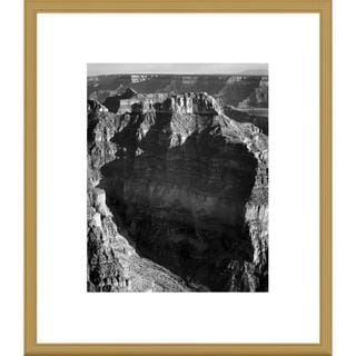 Big Canvas Co., Ansel Adams 'View from North Rim, Grand Canyon National Park, Arizona, 1941' Framed