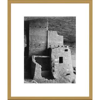 Big Canvas Co., Ansel Adams 'Close-up, Cliff Palace, Mesa Verde National Park, Colorado' Framed Art