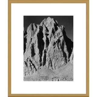 Global Gallery Ansel Adams 'Mt. Winchell, Kings River Canyon, proposed as a national park, Californ