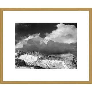 Big Canvas Co., Ansel Adams 'Clouds - White Pass, Kings River Canyon, proposed as a national park, C