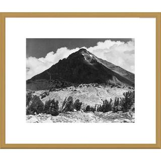 Global Gallery Ansel Adams 'Pinchot Pass, Mt. Wynne, Kings River Canyon, proposed as a national par