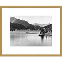 Global Gallery Ansel Adams 'Rac Lake, Kings River Canyon, proposed as a national park, California'