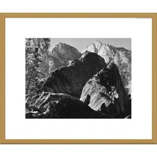 Global Gallery Ansel Adams 'Grand Sentinel, Kings River Canyon, proposed as a national park, Califo