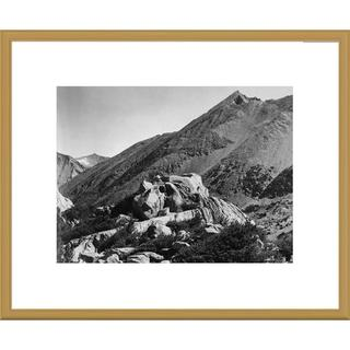 Global Gallery Ansel Adams 'Peak near Rac Lake, Kings River Canyon, proposed as a national park, Ca