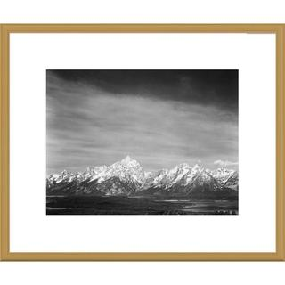 Big Canvas Co., Ansel Adams 'Tetons from Signal Mountain, Grand Teton National Park, Wyoming' Framed