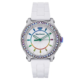 Juicy Couture Women's Crystal-Set Splash-Resistant Watch