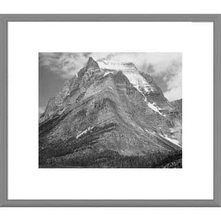 Big Canvas Co., Ansel Adams 'Going-to-the-Sun Mountain, Glacier National Park, Montana ' Framed Art