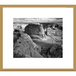 Big Canvas Co., Ansel Adams 'View of valley from mountain, Canyon de Chelly, Arizona' Framed Art