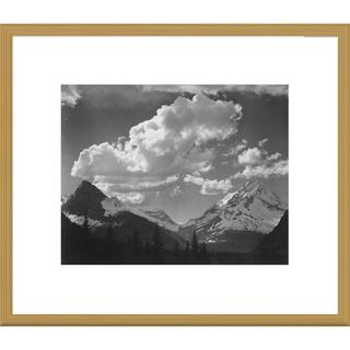 Big Canvas Co., Ansel Adams 'Trees in Glacier National Park, Montana' Framed Art