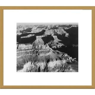 Global Gallery Ansel Adams 'Grand Canyon National Park, Arizona' Framed Art