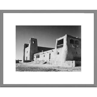 Big Canvas Co., Ansel Adams 'Church, Acoma Pueblo, New Mexico' Framed Art
