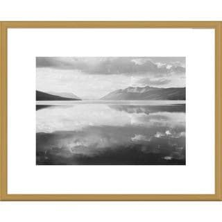 Big Canvas Co., Ansel Adams 'McDonald Lake, Glacier National Park, Montana' Framed Art