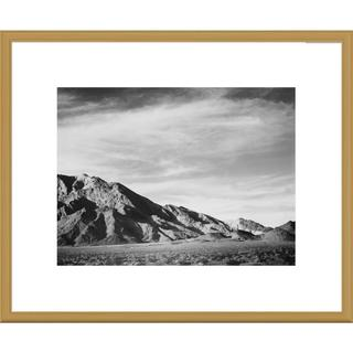 Global Gallery Ansel Adams 'View of mountains near Death Valley, California' Framed Art