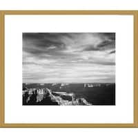 Global Gallery Ansel Adams 'Grand Canyon from North Rim' Framed Art