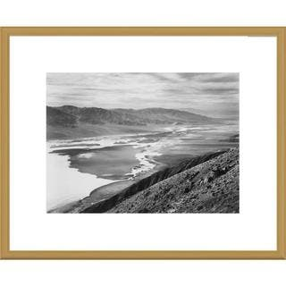 Global Gallery Ansel Adams 'Death Valley National Monument, California' Framed Art