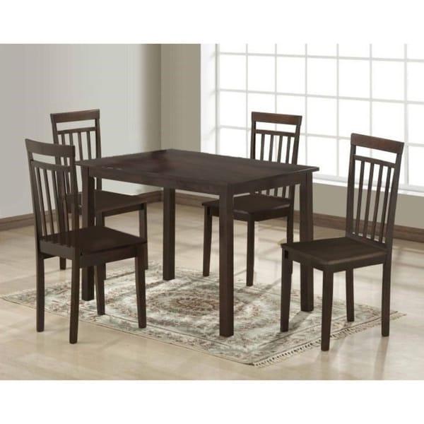 shop rectangular montana dining table free shipping today rh overstock com