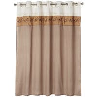 Windsor Home Abilene Embroidered Shower Curtain with Grommets