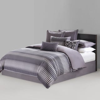 N Natori Abstract Stripe 4-piece Comforter Set (3 options available)