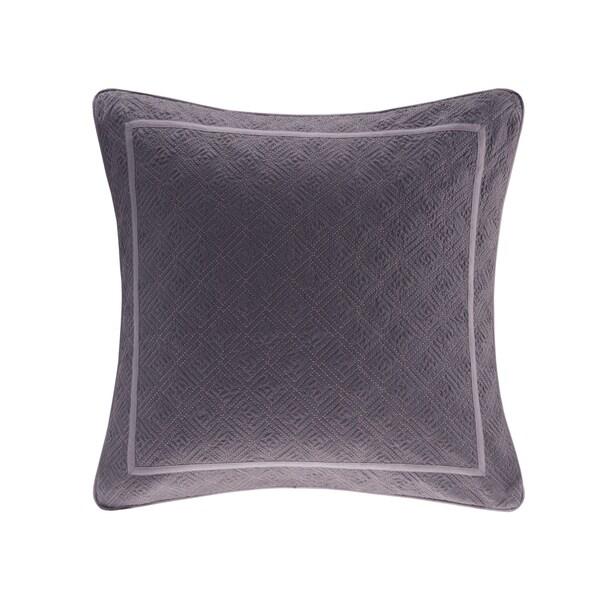 N Natori Abstract Stripe Cotton Euro Sham