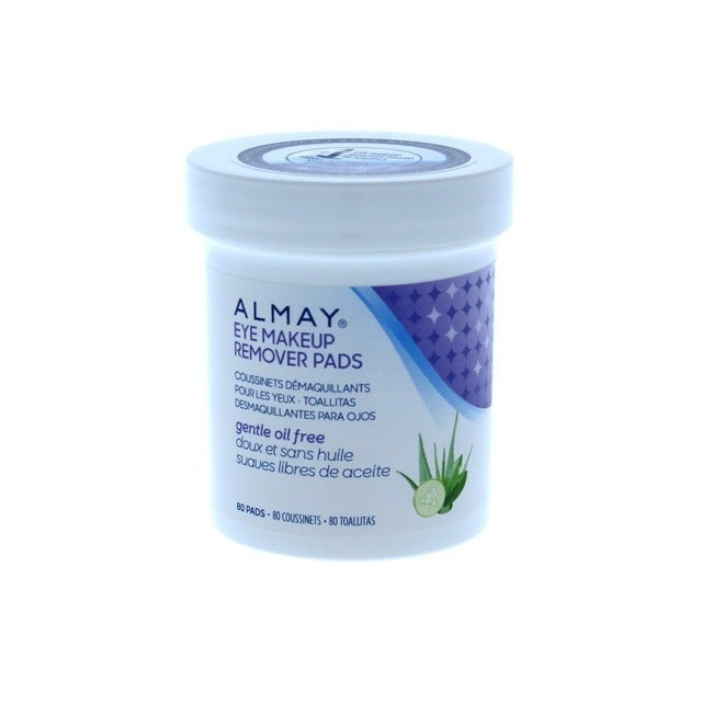 Almay 80 Count Oil Free Eye Makeup Remover Pads 1 From 819 Nextag