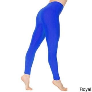 Dinamit Women's Shiny Super Stretch Spandex Leggings