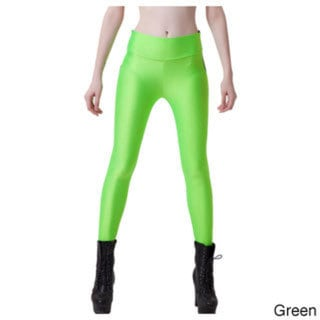 Women's Shiny Supper Stretch Spandex Leggings