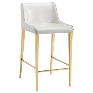 Sunpan LAWRENCE COUNTER STOOL - YELLOW GOLD - ALMOND