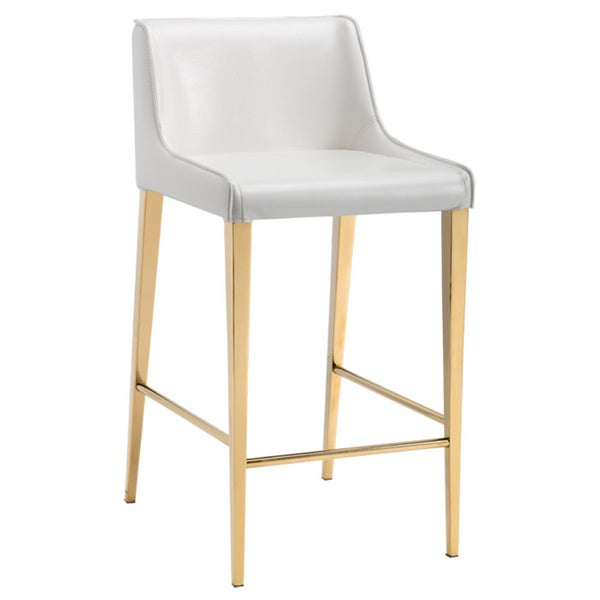 Shop Sunpan Lawrence 26 Quot Counter Stool Yellow Gold