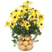 Sunflower and Lemon Arrangement
