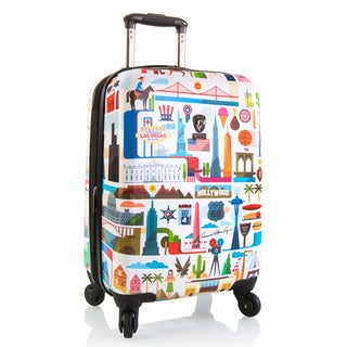 Heys FVT USA 21-inch Fashion Spinner Lightweight Carry-On Upright Suitcase