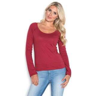 Beam Women's Red Long Sleeve T-shirt