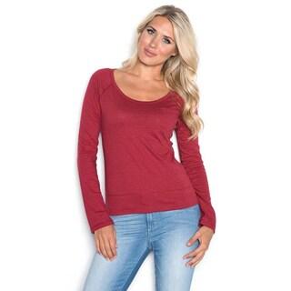 Beam Women's Red Long Sleeve T-shirt