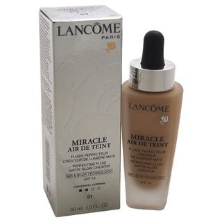 Lancome Miracle Air de Teint Perfecting Fluid Matte Glow Creator SPF 15 01 Beige Albatre