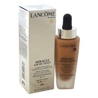 Lancome Miracle Air de Teint Perfecting Fluid Matte Glow Creator SPF 15 045 Sable Beige