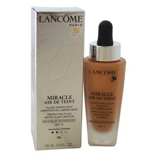Lancome Miracle Air de Teint Perfecting Fluid Matte Glow Creator SPF 15 05 Beige Noisette