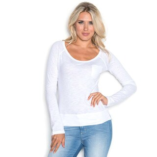 Beam Women's Long Sleeve White Shirt