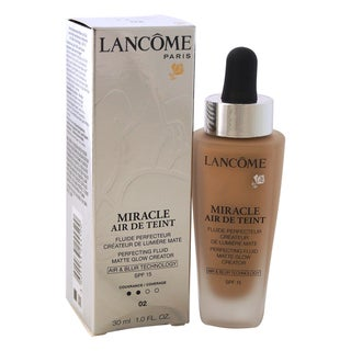 Lancome Miracle Air de Teint Perfecting Fluid Matte Glow Creator SPF 15 02 Lys Rose